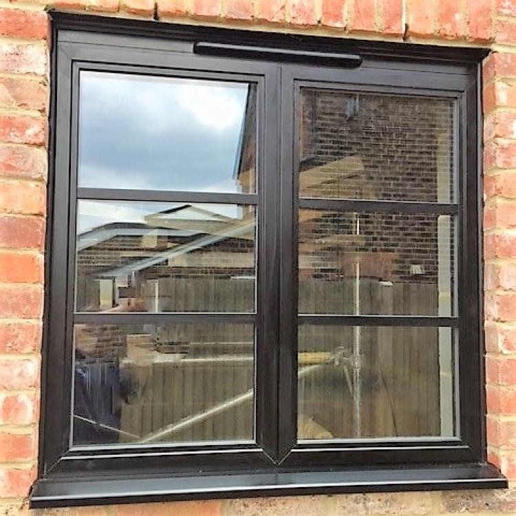 Image 2019 02 Matt Black Aluminium Window With