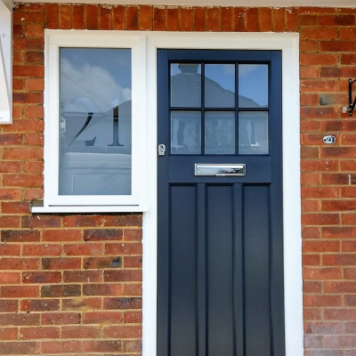 Image: 2019-08/boxmoor-front-door-in-anthracite-grey-with-opal-sandblast-glazing-including-house-number-to-side-window.jpg